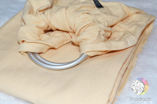 Sandy Beige With Fringe - Ringsling
